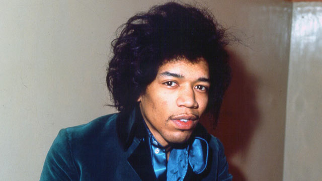 PHOTO: Jimi Hendrix is seen circa 1970.