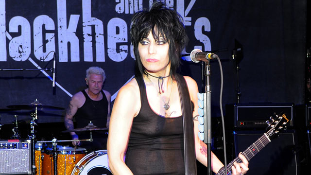 "PHOTO: Joan Jett performs at  ""A Night of New York Class,"" October 23, 2012, in New York City."