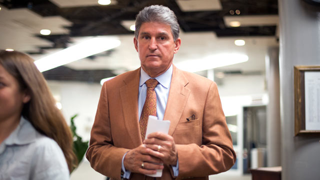 PHOTO: Sen. Joe Manchin,