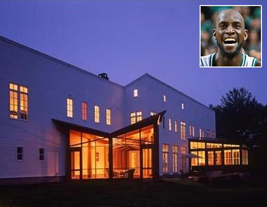 Kevin Garnett Lists Boston Home