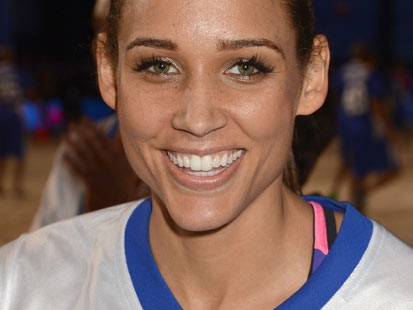 PHOTO: Lolo Jones attends DIRECTV'S 7th Annual Celebrity Beach Bowl at DTV SuperFan Stadium at Mardi Gras World on in this February 2, 2013 file photo taken in New Orleans, Louisiana.