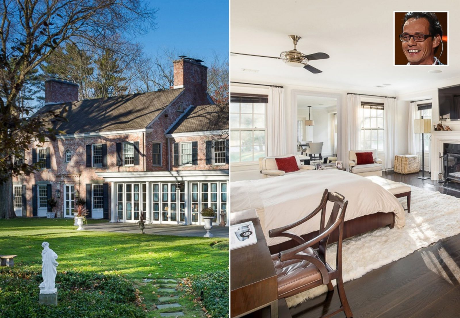Marc Anthony Lists Two Mansions