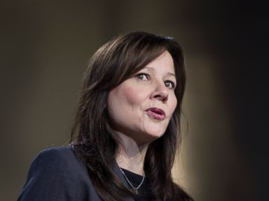 PHOTO: Mary Barra is seen in this Jan. 10, 2012 file photo speaking during the 2012 North American International Auto Show in Detroit, Michigan.