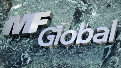 PHOTO: F Global Inc. signage is displayed at 60 East 53rd Street in New York, U.S.,  New York in this Nov. 11, 2011 file photo.