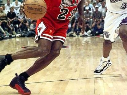 "Michael Jordans ""Flu Game"" shoes sell for $105K"