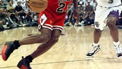 "Michael Jordan's ""Flu Game"" shoes sell for $105K"