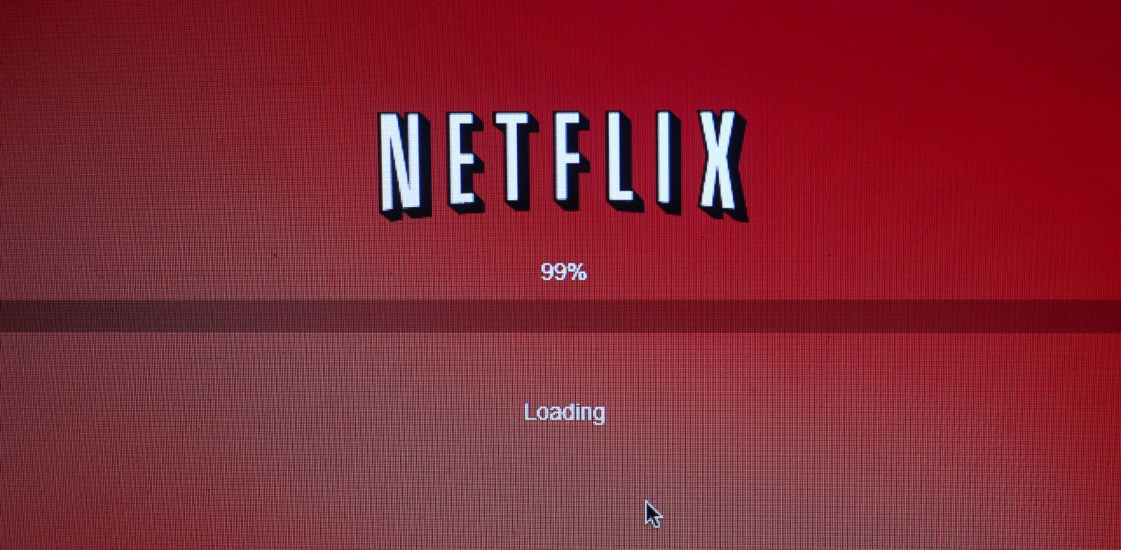 PHOTO: The Netflix Inc. website is displayed on a computer screen for a photograph in New York, U.S., on April 25, 2013.