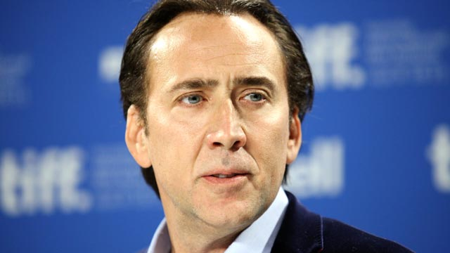 PHOTO: Nicolas Cage attends the 2011 Toronto International Film Festival, Sept. 14, 2011, in Toronto, Canada.