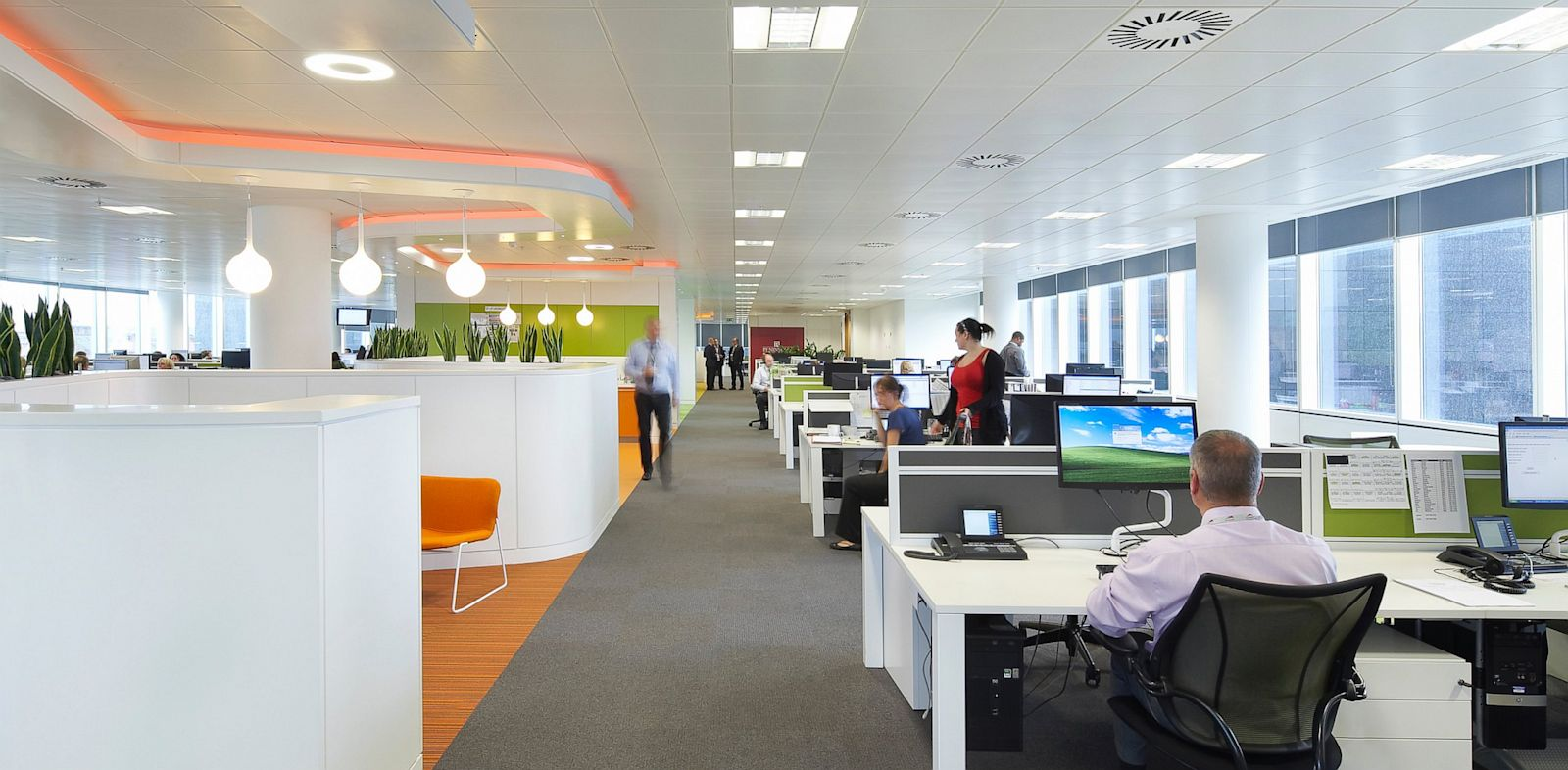 PHOTO: Open-plan office