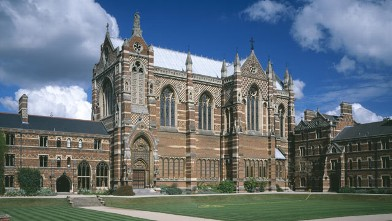 PHOTO: The Chapel, Keble College, Oxford University, Oxford.