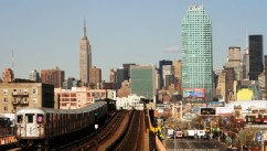 PHOTO: Manhattan is seen from Queens, New York.