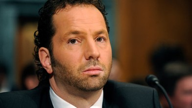 PHOTO: Michael Rapino, CEO of Live Nation, testified before a Subcommittee on Antitrust, Competition Policy and Consumer Rights hearing on the merger between those companies and what it means for consumers and the concert business, February 24, 2009.