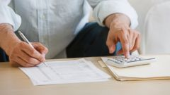 PHOTO: When filing your tax return, you can choose between the standard deduction or to itemize.
