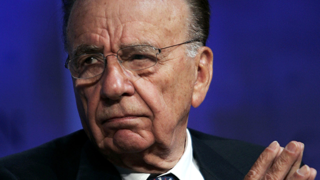 PHOTO: Rupert Murdoch, Chairman and Chief Executive Officer, News Corporation during a panel discussion at the Clinton Global Initiative annual meeting Sept. 21, 2006 in New York.