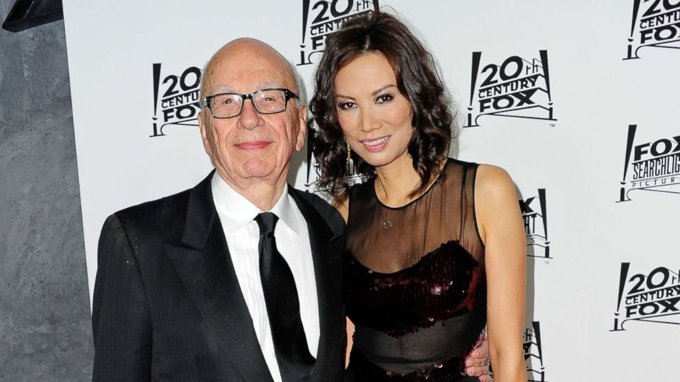 PHOTO: Media mogul Rupert Murdoch and his wife Wendi Deng Murdoch attend the 20th Century Fox and Fox Searchlight Academy Award nominees party, Feb. 24, 2013, in Los Angeles.
