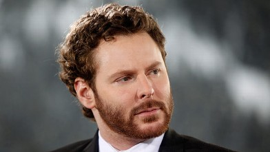 PHOTO: Sean Parker, co-founder of Napster Inc. and managing partner of the Founders Fund, listens during a television interview on day three of the World Economic Forum (WEF) in Davos, Switzerland, Jan. 27, 2012.