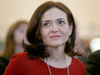 Facebook's Sheryl Sandberg Says Women Must 'Lean In'