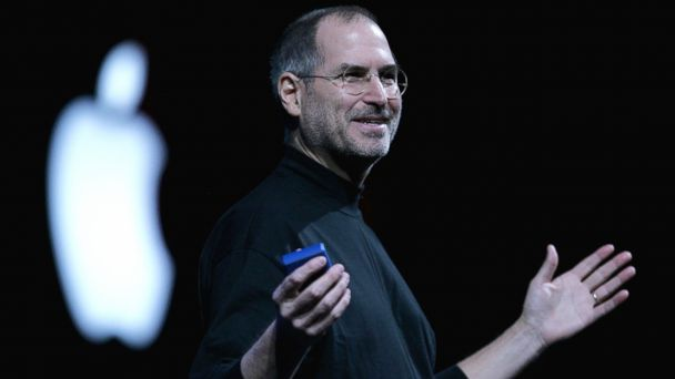 PHOTO: Apple CEO Steve Jobs delivers a keynote address at the 2005 Macworld Expo in this Jan. 11, 2005  file photo taken in San Francisco, Calif.