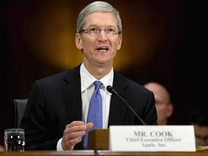 Apple CEO: 'No Tax Shifting Going On'