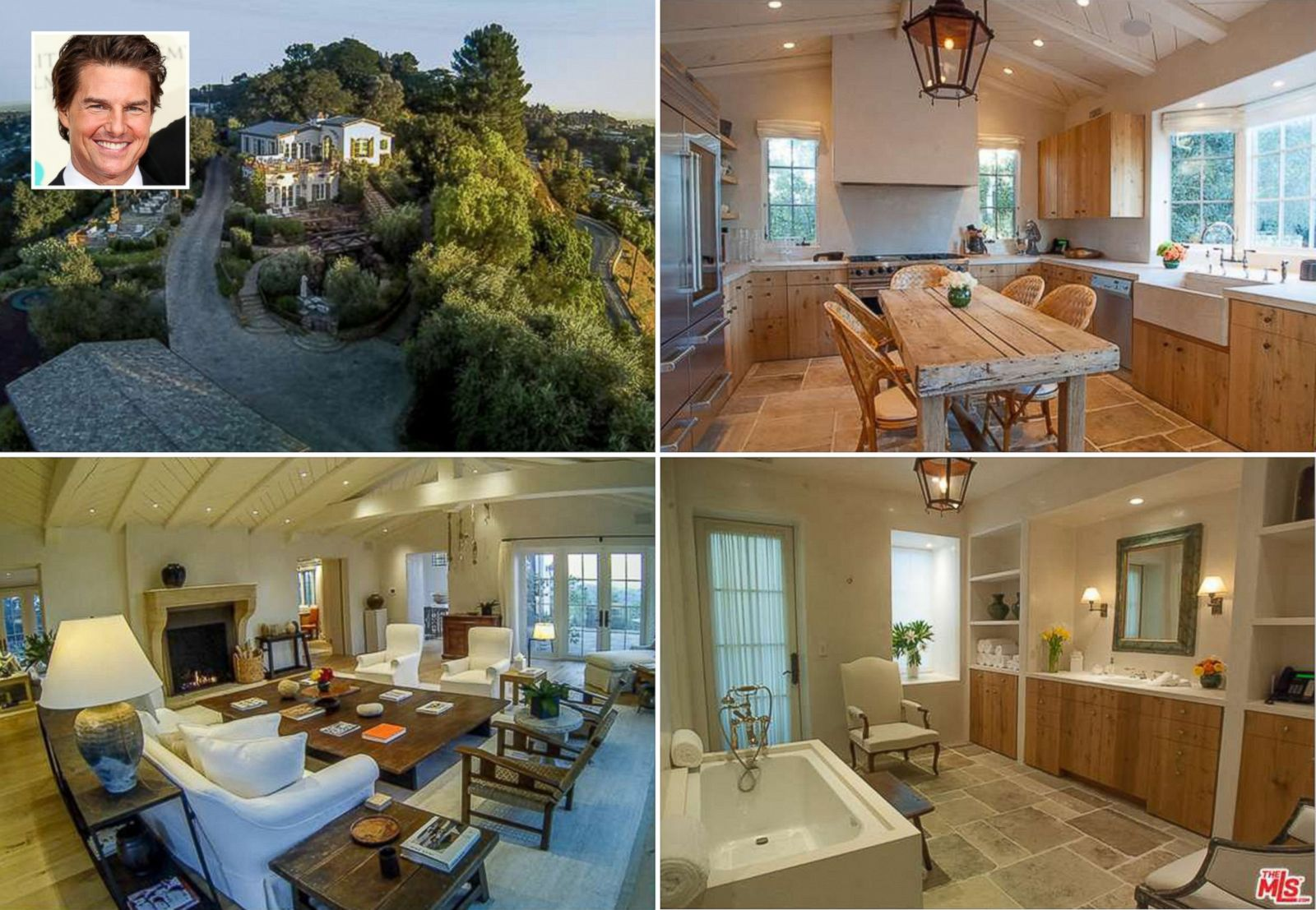 tom cruise reportedly lists hollywood hills estate picture. Black Bedroom Furniture Sets. Home Design Ideas