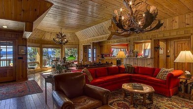 Ty Cobbs Lake Tahoe home on sale