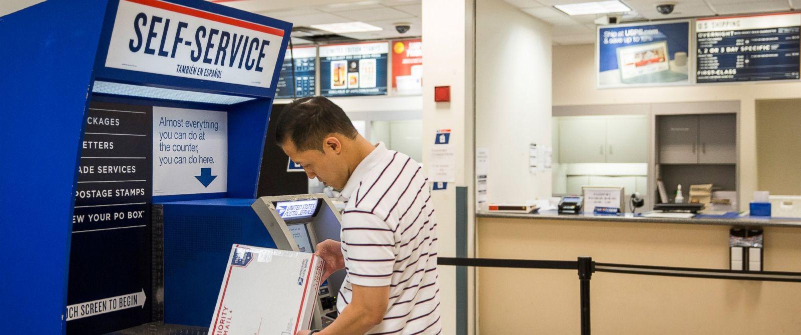 us postal service postage machine