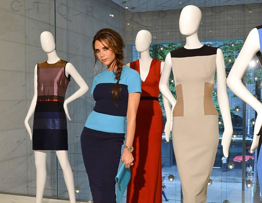 Victoria Beckham Launches Online Clothes Site