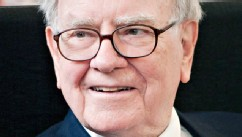 PHOTO: Warren Buffett, chairman of Berkshire Hathaway, is shown at an annual shareholders meeting in Omaha, Neb., May 6, 2012.