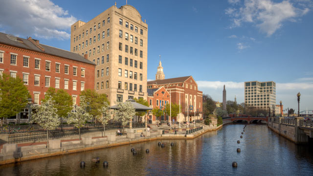 PHOTO: Providence, Rhode Island is seen in this undated stock photo.