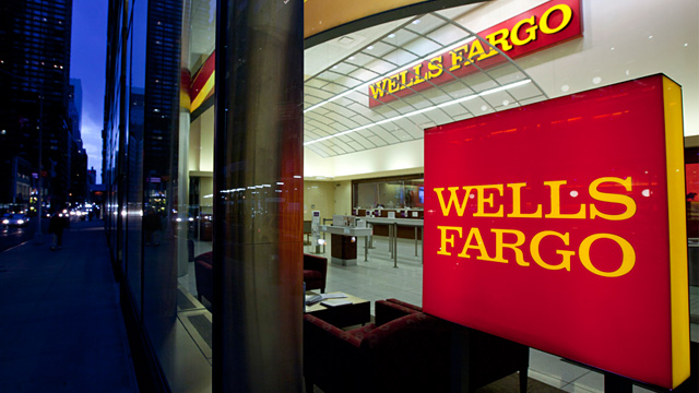 PHOTO: Wells Fargo bank