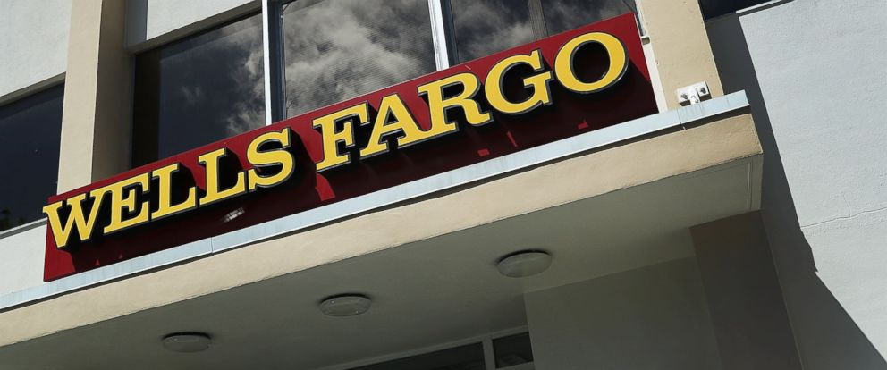 PHOTO: A Wells Fargo sign is seen on the exterior of one of their bank branches, Sept. 9, 2016, in Miami, Florida.