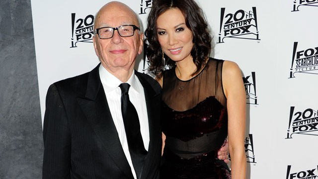 PHOTO: Media mogul Rupert Murdoch and his wife Wendi Deng Murdoch attend the 20th Century FOX and FOX Searchlight Academy Award Nominees Party at Lure on February 24, 2013 in Hollywood, California.