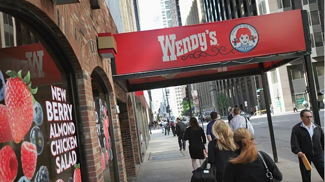 PHOTO: Wendy's restaurant
