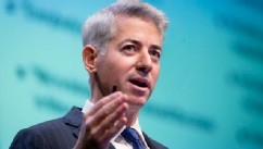 William &quot;Bill&quot; Ackman, founder and chief executive officer of Pershing Square Capital Management LP, speaks during a presentation in New York, Dec. 20, 2012. PHOTO: