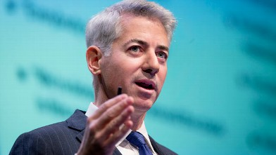 "William ""Bill"" Ackman, founder and chief executive officer of Pershing Square Capital Management LP, speaks during a presentation in New York, Dec. 20, 2012. PHOTO:"
