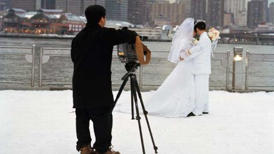 PHOTO: People don't always remember that Winter weddings can be spectacular as can Sunday morning affairs with a gorgeous brunch reception.