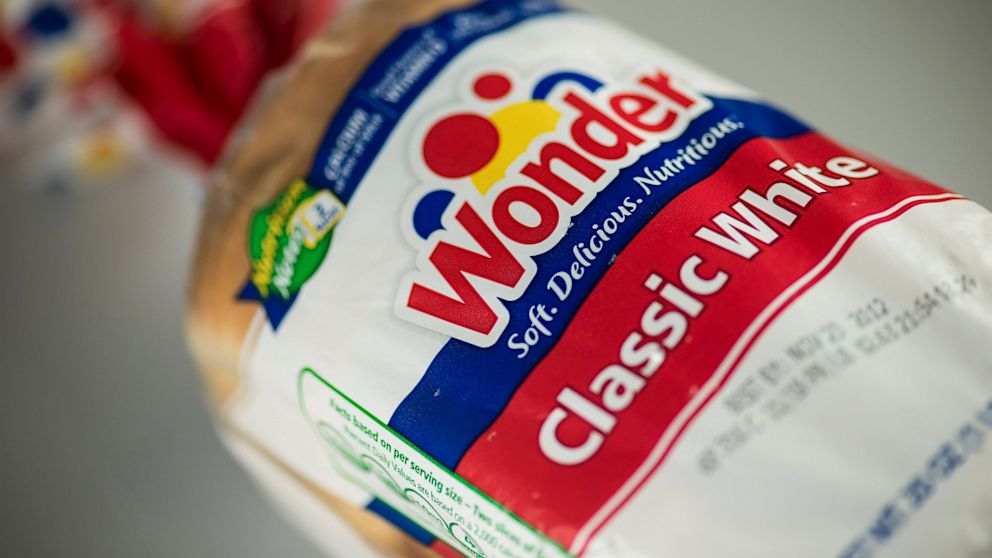 PHOTO: A bag of Wonder Bread is seen November 18, 2012 in Washington, DC.