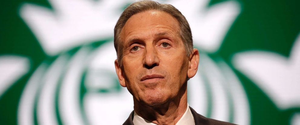 PHOTO: Starbucks Chairman and CEO Howard Schultz speaks at the Annual Meeting of Shareholders in Seattle, March 22, 2017.