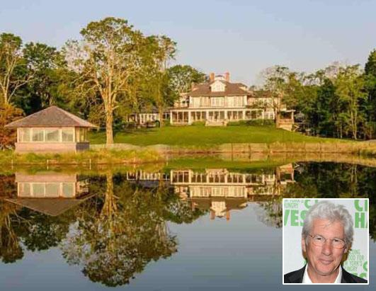 Richard Gere Lists N.Y. Home