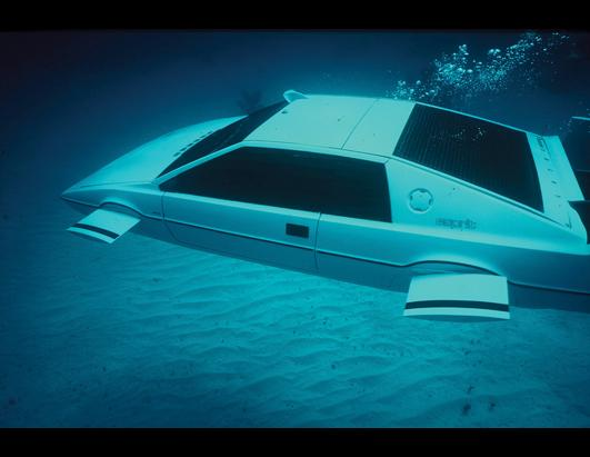 James Bond's Submarine Car Sold