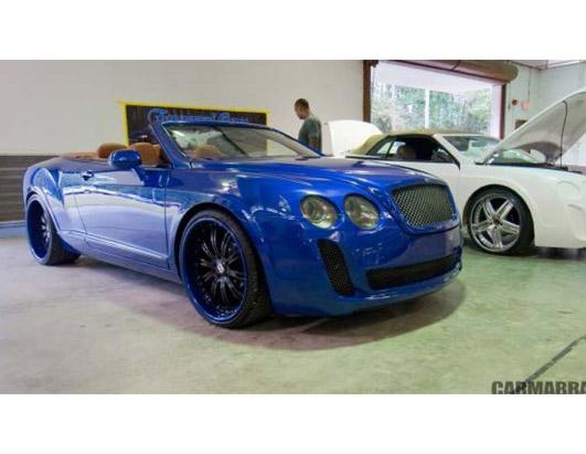 The Transformation: Chrysler, Ford, Other Cars Turned Into Bentley Cars