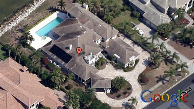 PHOTO: Investors at FYM Inc. purchased the $1.2 million bayfront home in Apollo Beach, Florida for $10,010.00 in February.