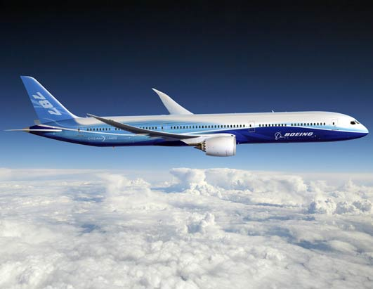 Boeing Introduces Dreamliner