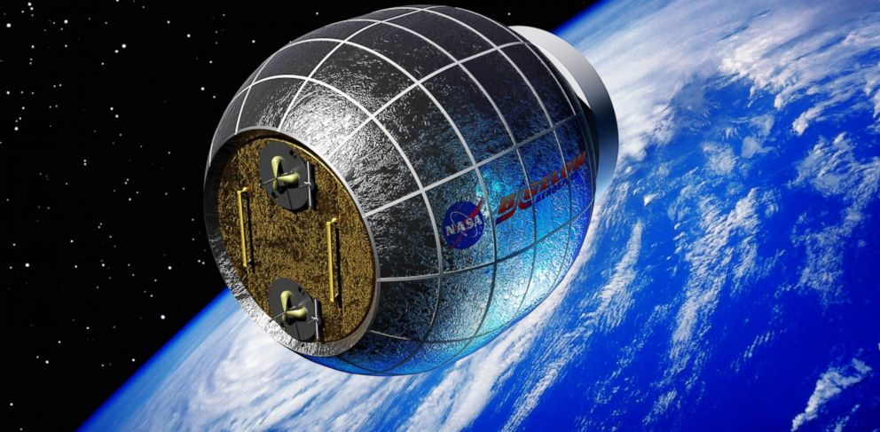 PHOTO: An artists rendering of the Bigelow Expandable Activity Module in orbit.