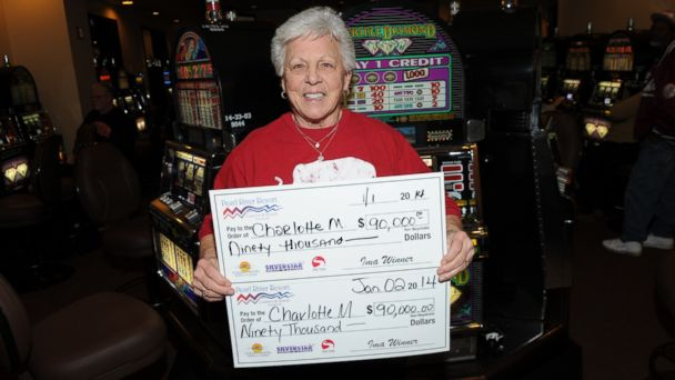 ht Charlotte M casino jackpot winner ll 140106 16x9 608 Woman Hits Two $90K Slot Jackpots in Two Days