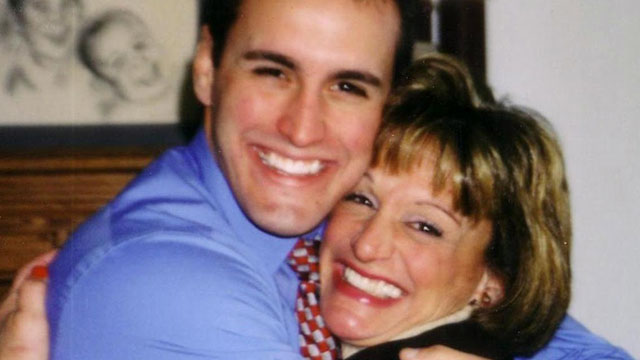 PHOTO: The Bryski family in New Jersey is hoping to push forward a bill that provides transparency for student loan co-signers. Christopher Bryski, a graduate of Rutgers University shown with his mother, died i