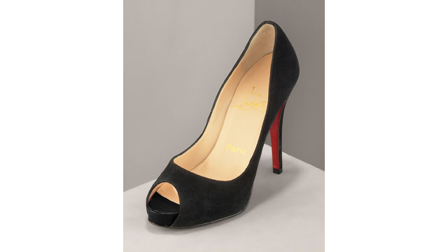 PHOTO: Christian Louboutin Peep Toe Pump