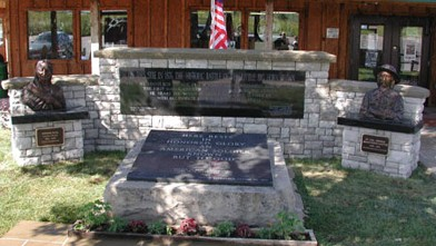 PHOTO: Tomb of the Unknown Soldier & Peace Memorial in Garryowen, Montana