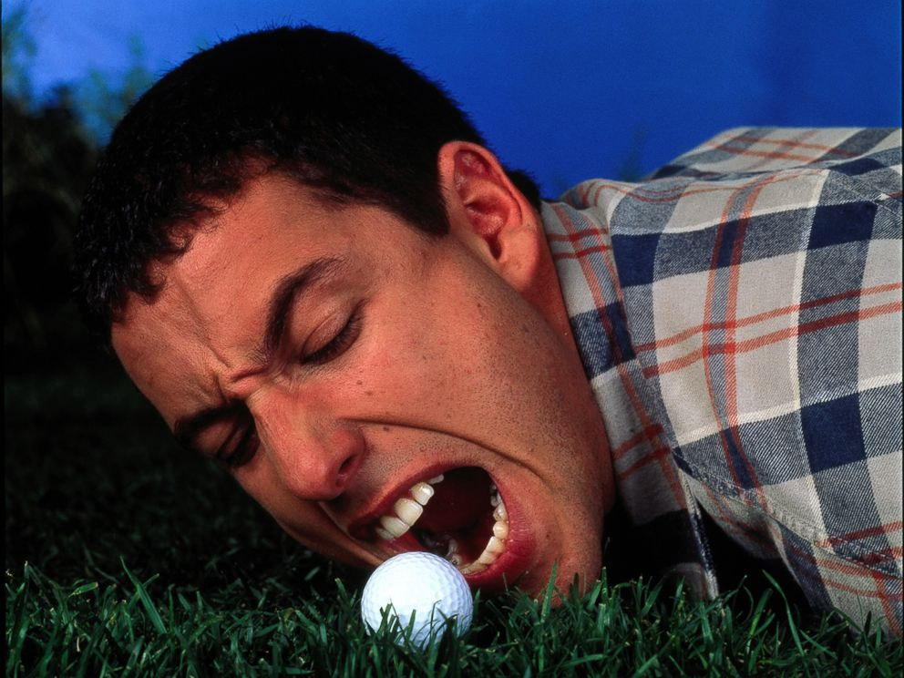 PHOTO: Adam Sandler appears in Happy Gilmore, one of the titles that is available streaming on Netflix.