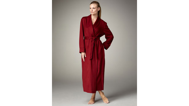 PHOTO: Loro Piana Cashmere Robe